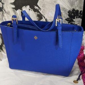 Tory Burch blue shoulder bag